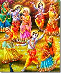 Dancing with Krishna