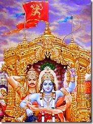 The flag of Hanuman