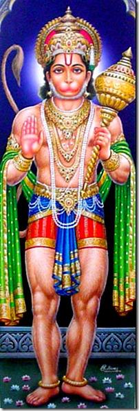 Hanuman - a pure devotee of God