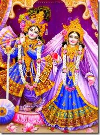 Radha Krishna deities
