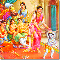 Lord Rama and family