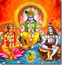 Brahma, Vishnu, Shiva