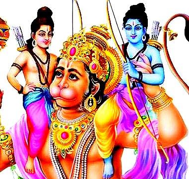 Hanuman saves the brothers...