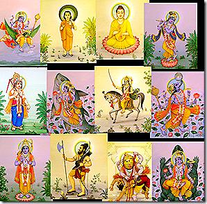 Lord Krishna avataras