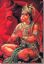 Hanuman - an eternal servant of God