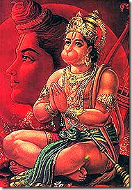 Hanuman - an eternal servant of God