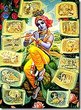Krishna and His incarnations