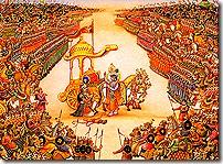 Scene of the Bharata War