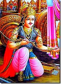 Arjuna - an ideal kshatriya