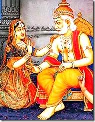 Dasharatha and Kaikeyi