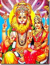Narasimhadeva with Lakshmi