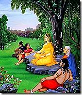 Sita in meditation