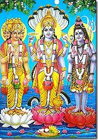 Brahma, Vishnu, Mahesha