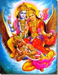 Lakshmi Narayana with Garuda