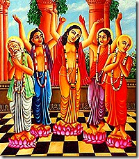 Panchatattva - performers of sankirtana