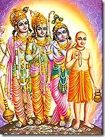 Lord Chaitanya - non-different from Krishna, Rama, and Vishnu