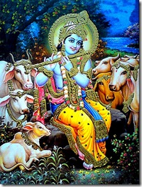 Krishna is all-attractive