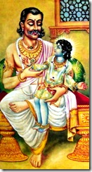 King Dasharatha with Rama