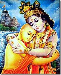 Lord Krishna and Lord Chaitanya