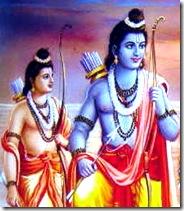 Lord Rama and Lakshmana