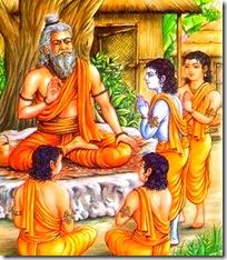 The spiritual master's school
