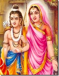 Sita Devi and Lakshmana