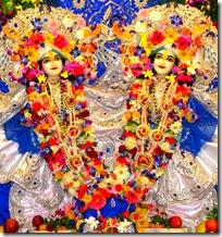 Shri Shri Nimai Nitai chanting Hare Krishna