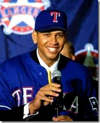 Arod signing with the Texas Rangers