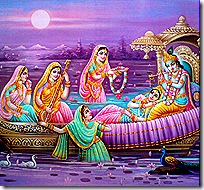 Radha, Krishna, and the gopis