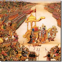 Start of the Bharata War