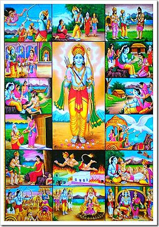 Rama's glorious activities