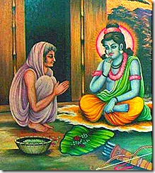 Shri Rama with Shabari
