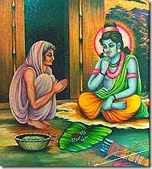 Shri Rama with Shabari