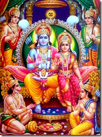 Sita, Rama, and family