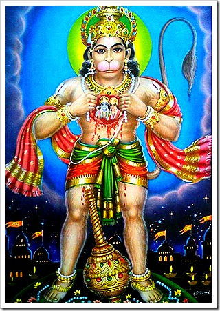 Hanuman - the pure devotee