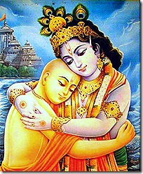 Lord Krishna and Lord Chaitanya