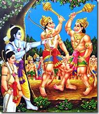 Rama shooting Vali