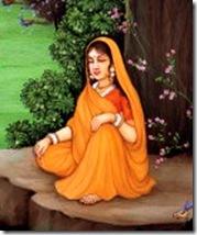 Sita Devi alone