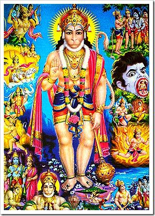 Hanuman and his glorious activities