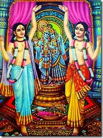 Nimai Nitai chanting Hare Krishna