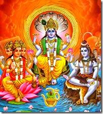 Three guna avataras