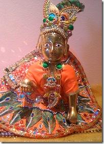 Laddu gopal deity