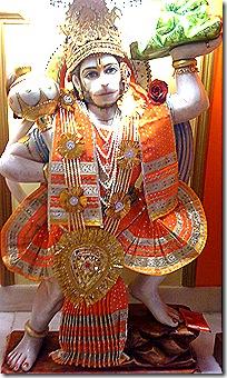 Hanuman deity