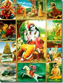 Krishna's advents