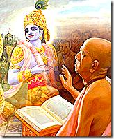 Prabhupada discussing Krishna