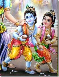 Balarama and Krishna