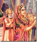 Sita Devi and King Janaka