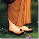 Vishvamitra's lotus feet