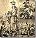 Scenes from Mahabharata