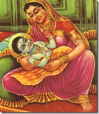 Kausalya with Rama